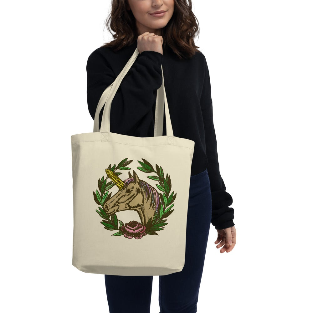 Image of Uni-Corn Midwest Crest Tote