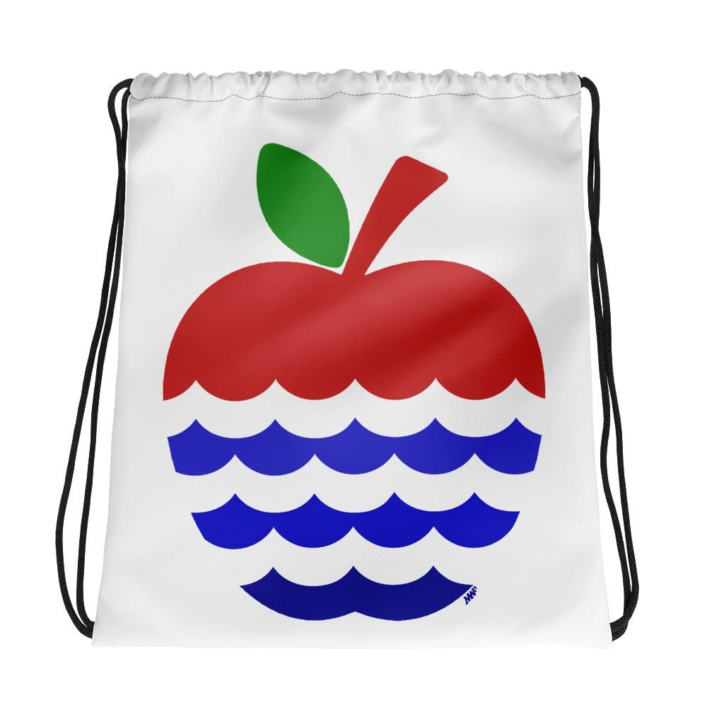 Image of Apple & River Drawstring bag