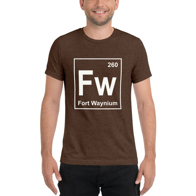 Image of Fort Waynium Tri-Blend Tee