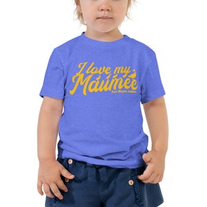 Image of I Love My Maumee Short Sleeve Children's Tee