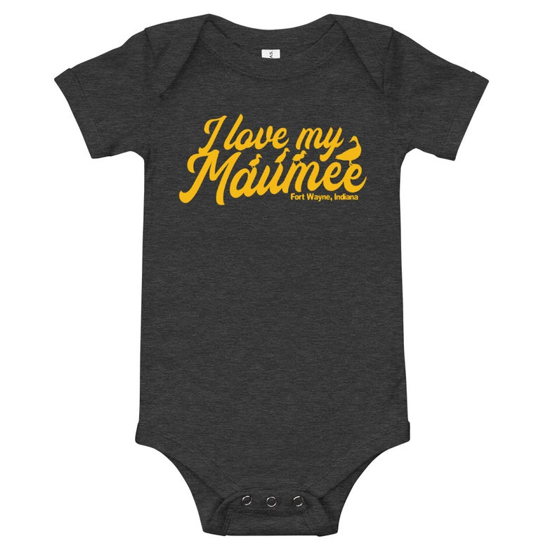 Image of I Love My Maume Baby Onesie