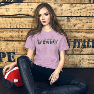 Image of Midwest Floral Short-Sleeve Unisex T-Shirt
