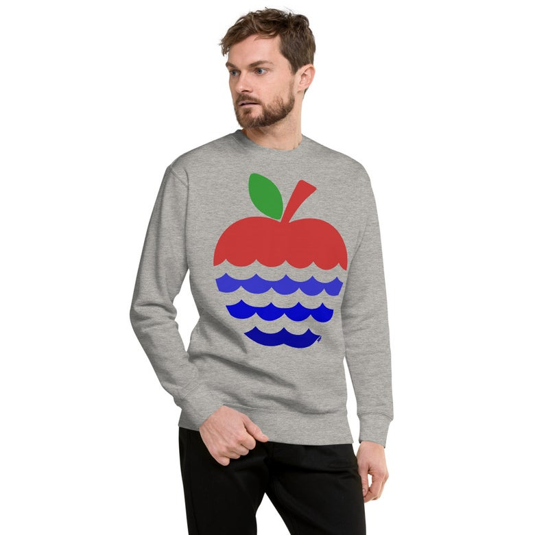 Image of Apples + Rivers = Fort Wayne Fleece Uni-Sex Pullover