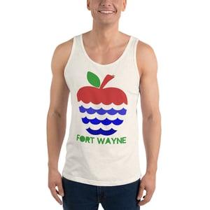 Image of Apples + Rivers = Fort Wayne Uni-sex Tank Top
