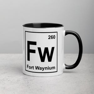 Image of Fort Wayne Periodic Mug