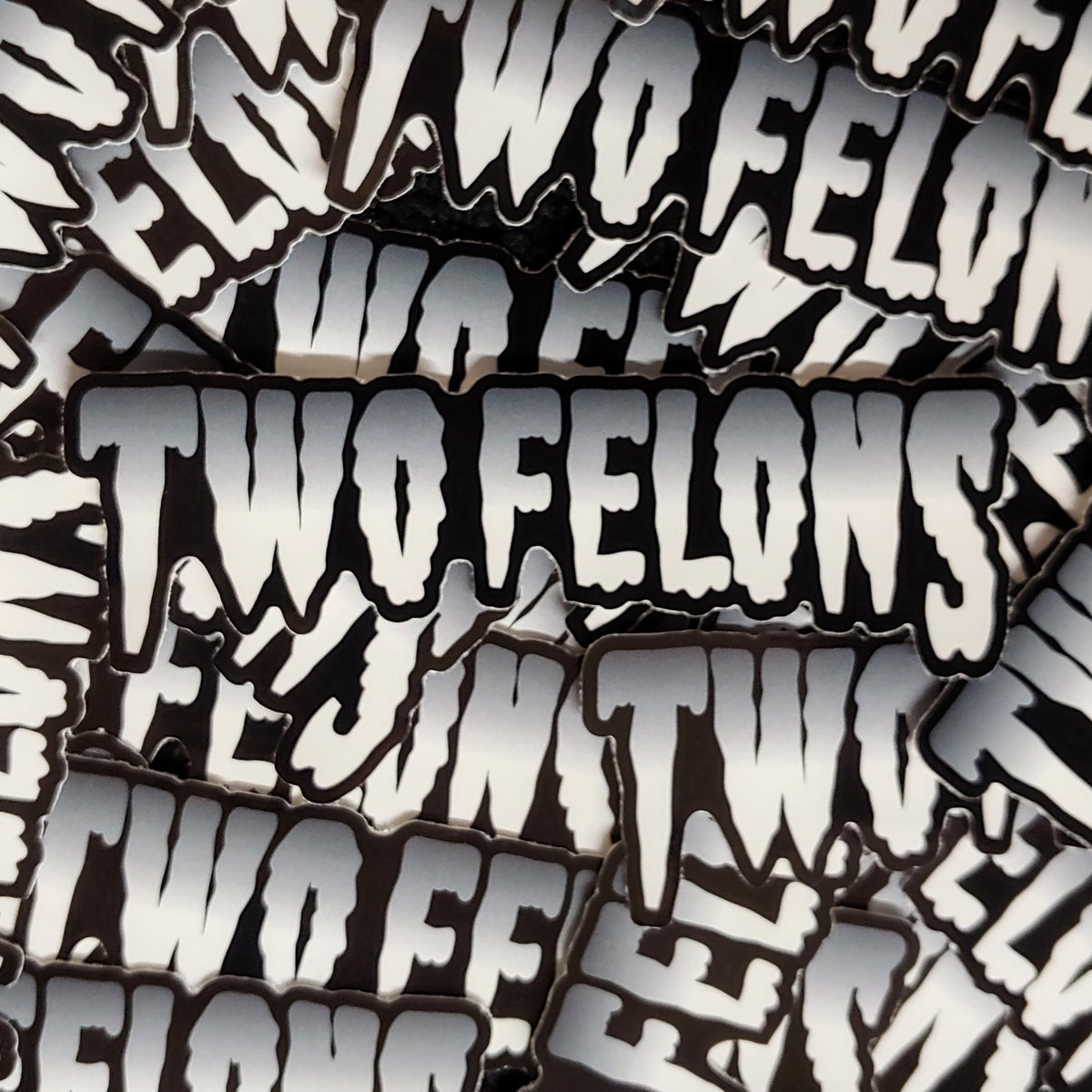 "Two Felons ""Creep"" stickers"