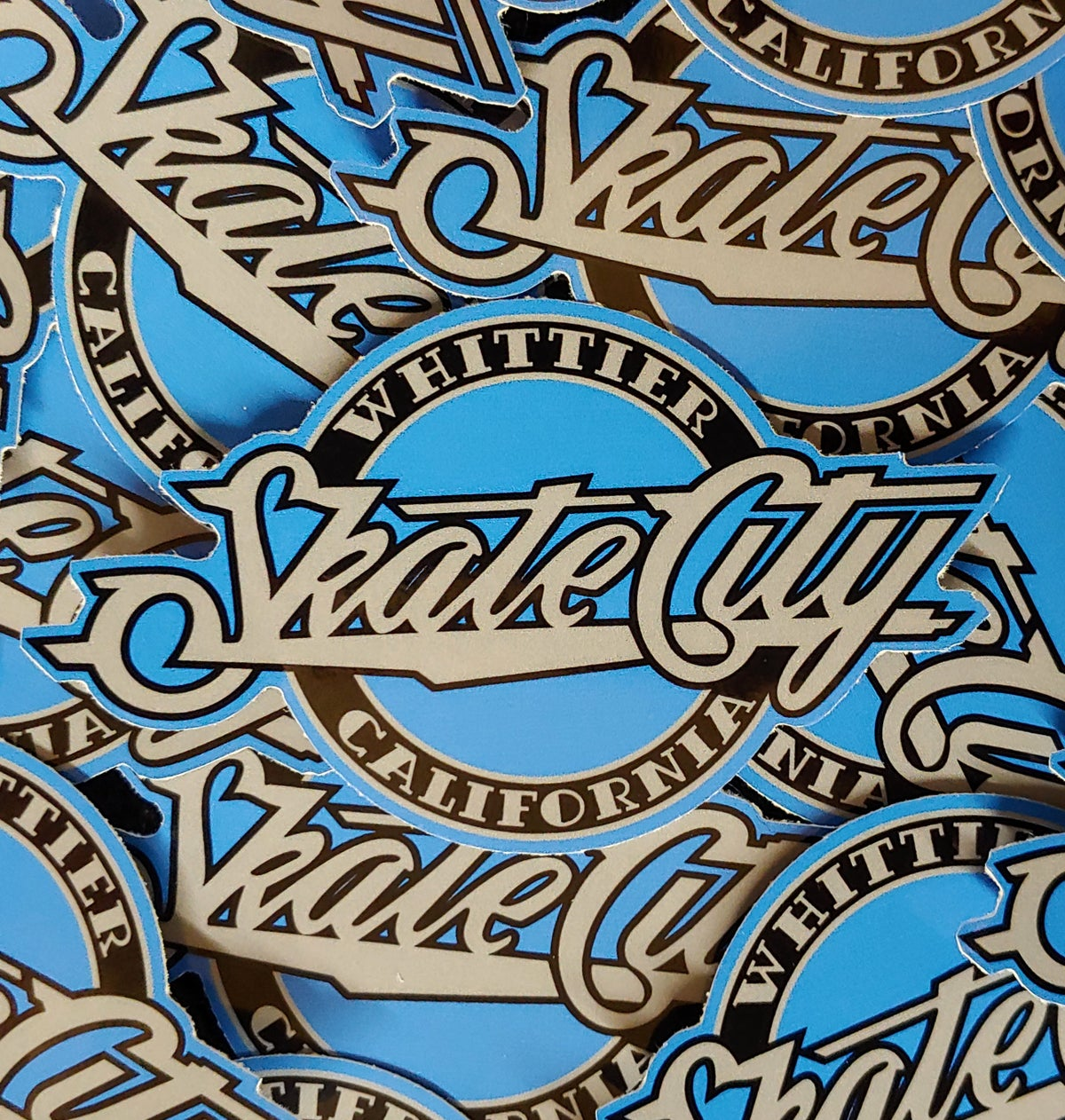 Whittier Skate City stickers