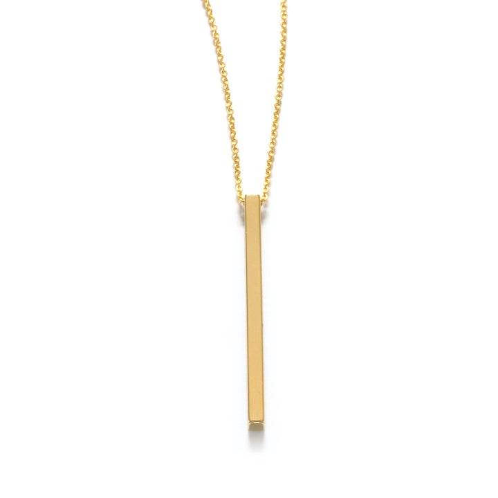 Image of Amano Golden Rod Necklace