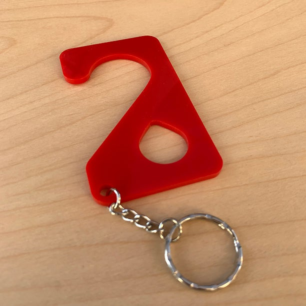 Image of safety touch tool / red