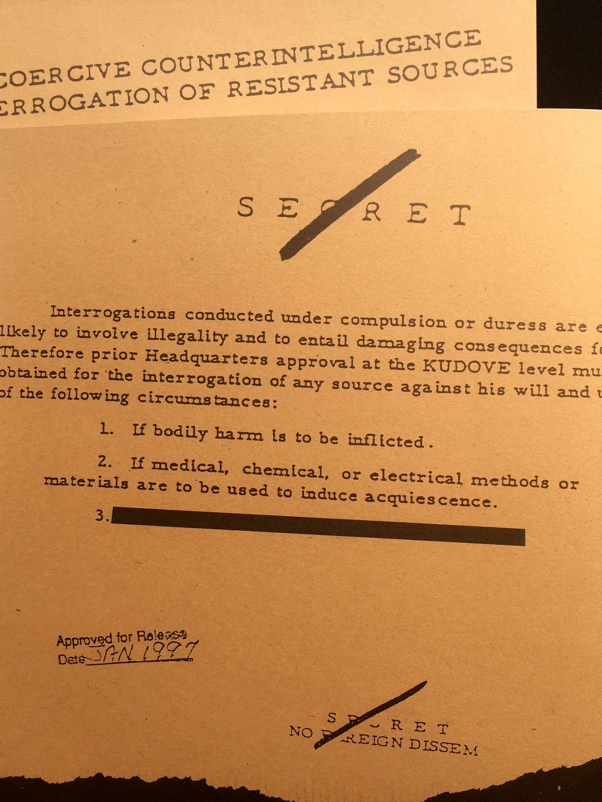Image of InTERRORgation: The CIA's Secret Manual on Coercive Questioning