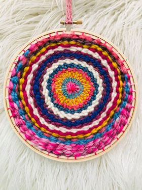Image of Lollipop the Circular Weaving