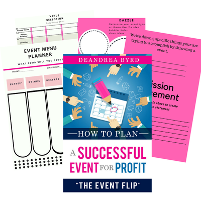 Image of How to Plan an Event for Profit: The Event Flip [ $99 VALUE ]