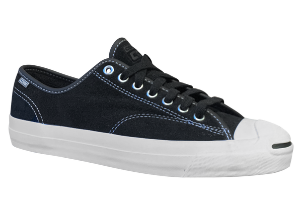 Image of Converse CONS Jack Purcell Pro Ox - Black / White Suede