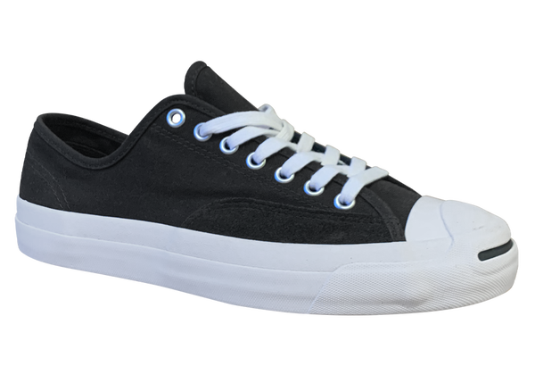 Image of Converse CONS Jack Purcell Pro Ox - Black / White Canvas & Suede