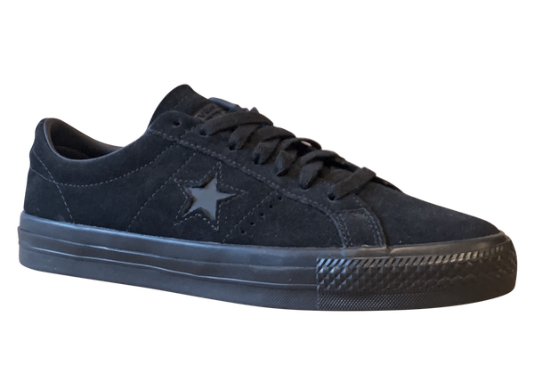 Image of Converse CONS One Star Pro - Black / Black Suede