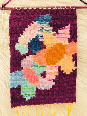 Image of Delightful Flowers Weaving
