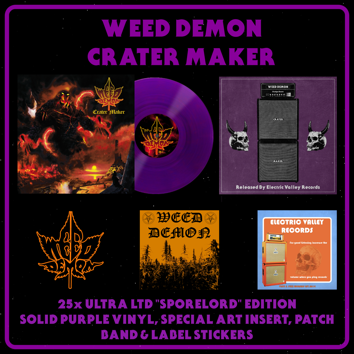 "Image of Weed Demon - Crater Maker Ultra LTD ""Sporelord Edition"""