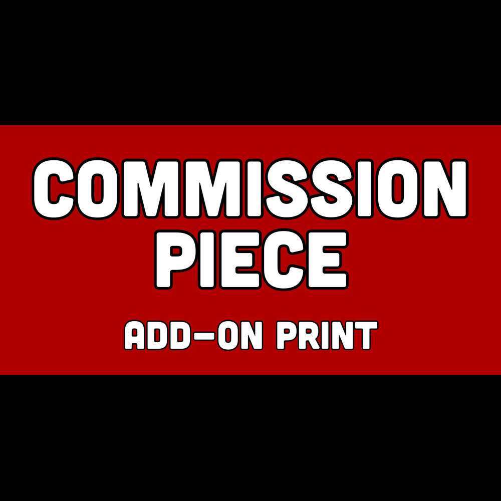 Image of Commission Add-On: Art Print