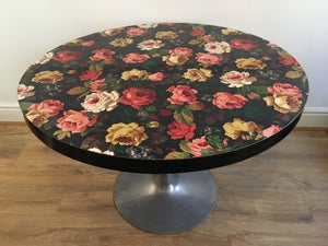 1970's floral tulip table