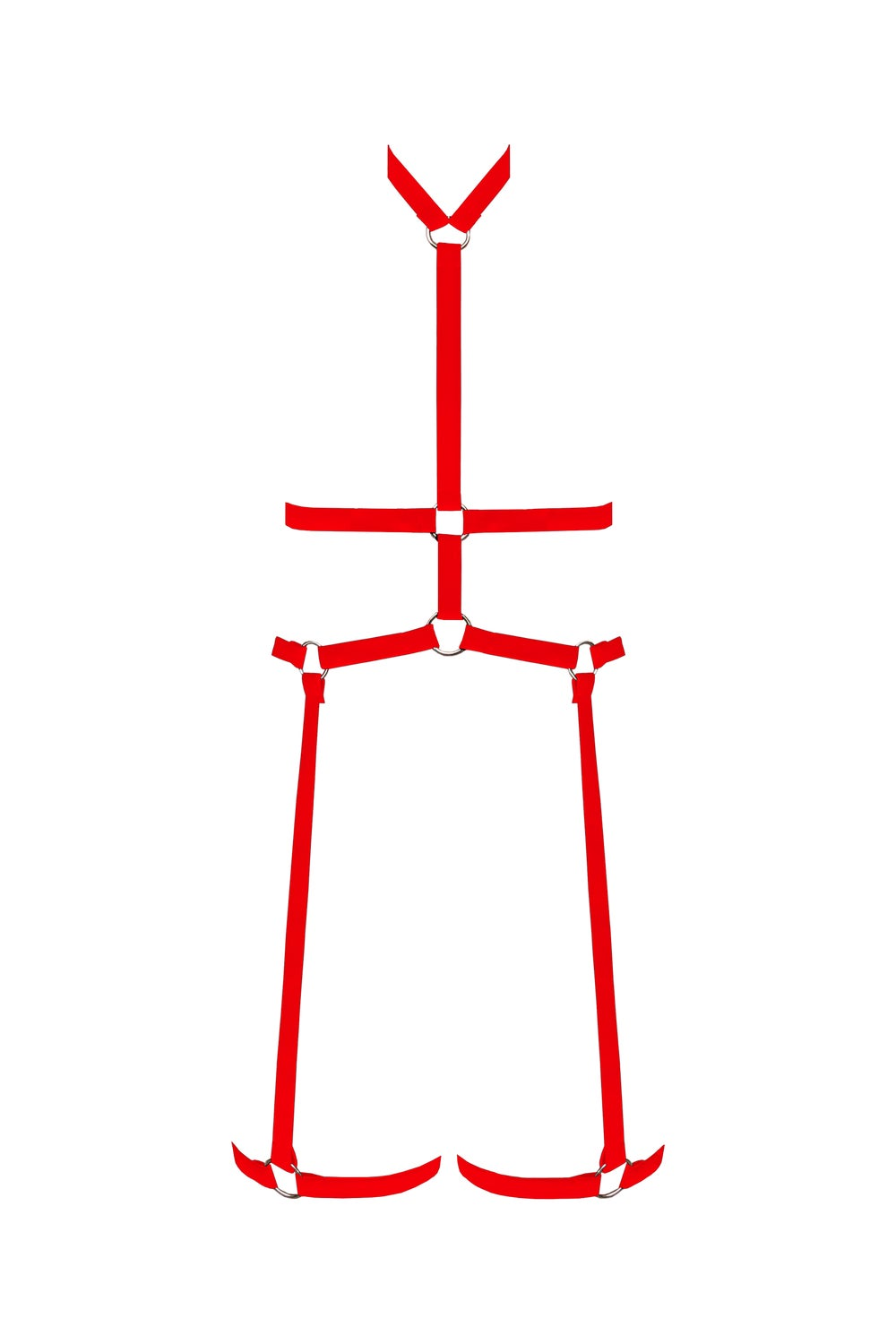 Image of Harness - Hot Red
