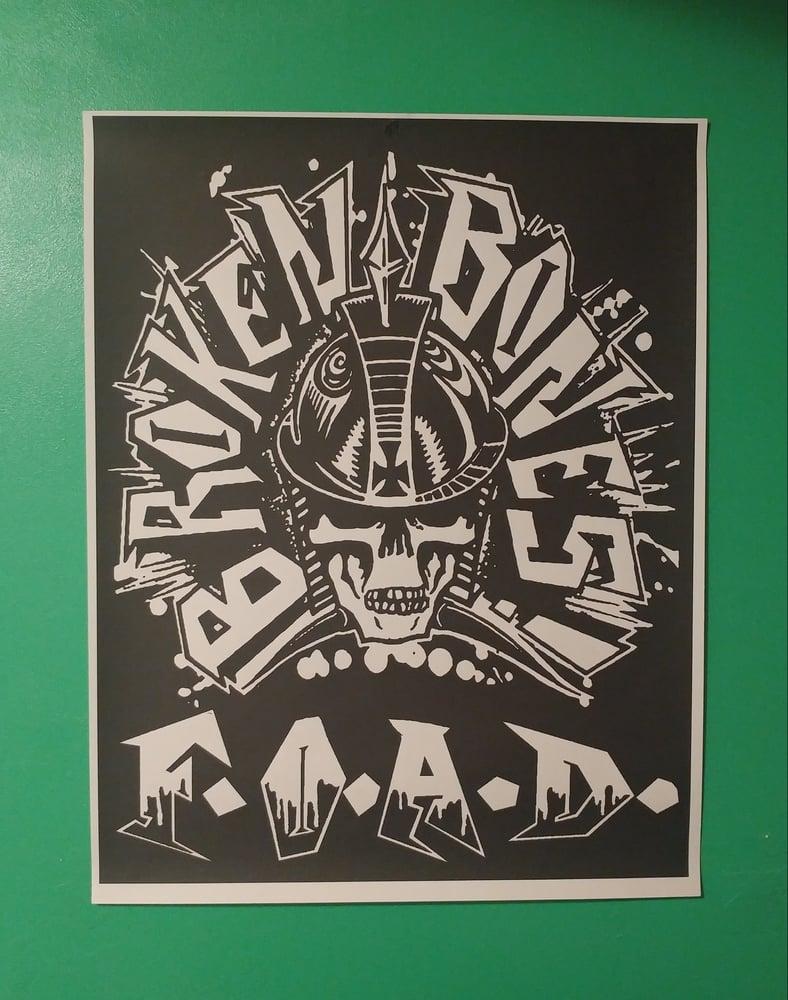 Image of Broken Bones FOAD poster 22x28