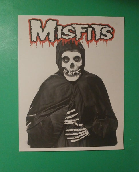 Image of Misfits Crimson Ghost poster 22x28