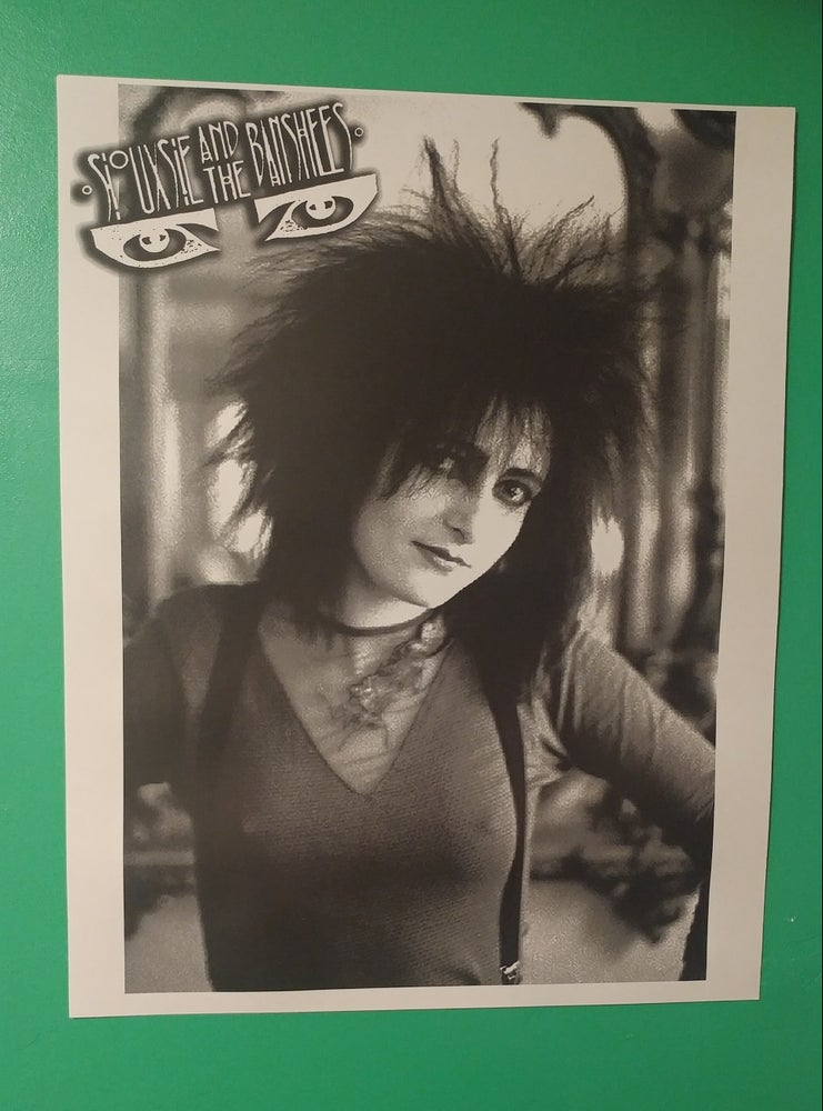 Image of Siouxsie and the Banshees poster 22x28