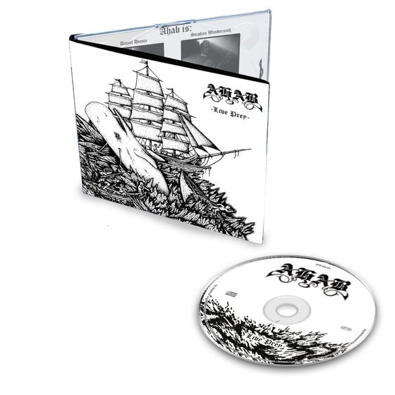 "Image of AHAB ""Live Prey"" Digipak CD"