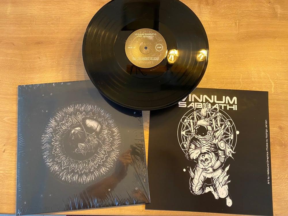 """Image of VINNUM SABBATHI """"LIVE SESSION"""" EU TOUR 2020 BLACK VINYL EDITION"""