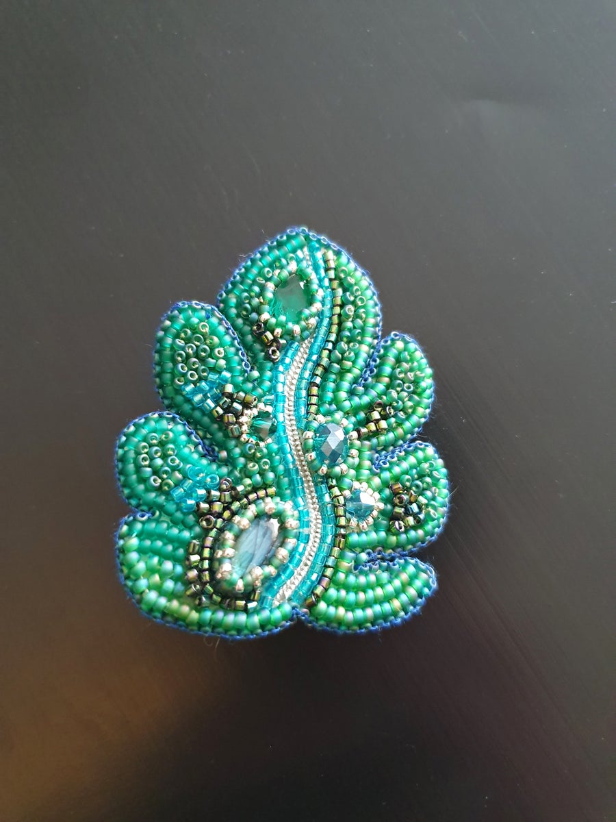 Image of Pin's brodé MONSTERA