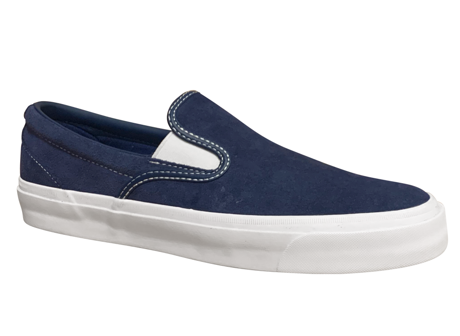Image of Converse CONS One Star CC Pro Slip-on - Navy / White Suede