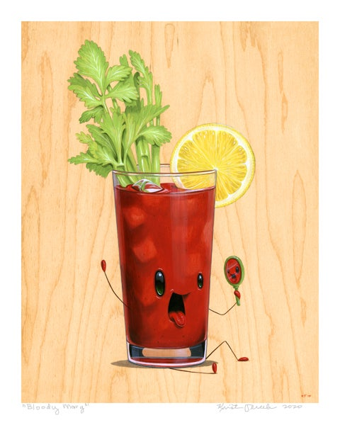 "Image of ""Bloody Mary"" Giclee"