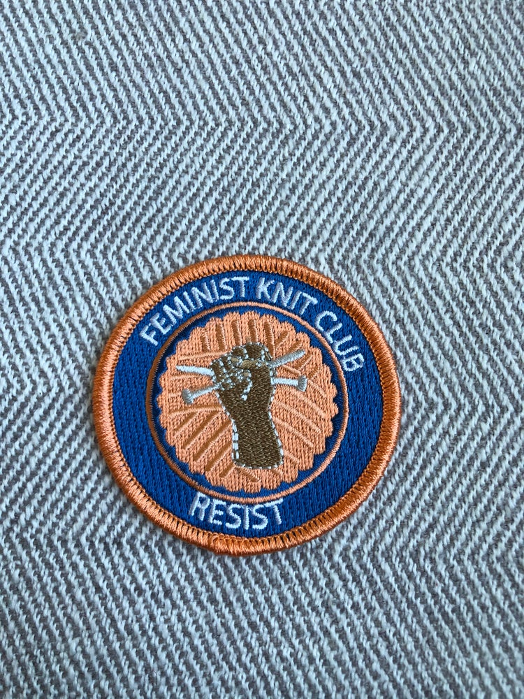 Image of Feminist Knit Club Badge