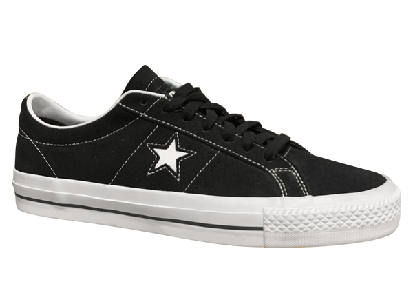 Image of Converse CONS One Star Pro - Black / White Suede