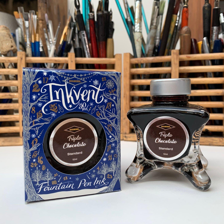 Inkvent Ink 50ml Bottle / Triple Chocolate