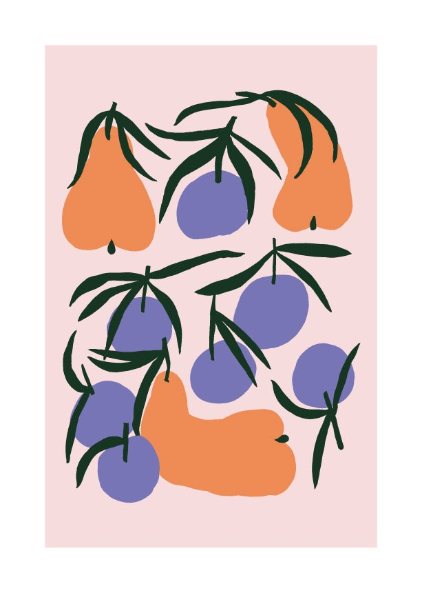 Image of Chilling with mandarins / A4