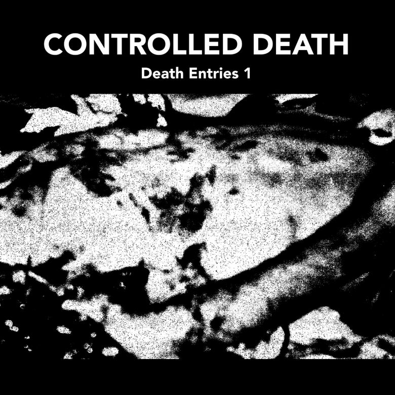 "Image of CONTROLLED DEATH ""Death Entries 1""  • BLACK VINYL /200"