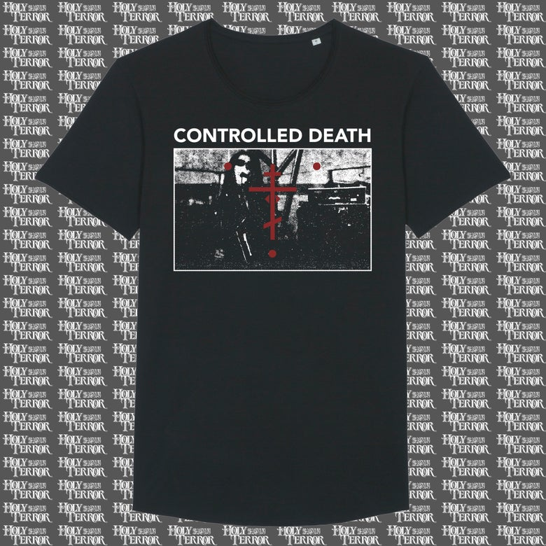 Image of CONTROLLED DEATH • LIMITED T-SHIRT