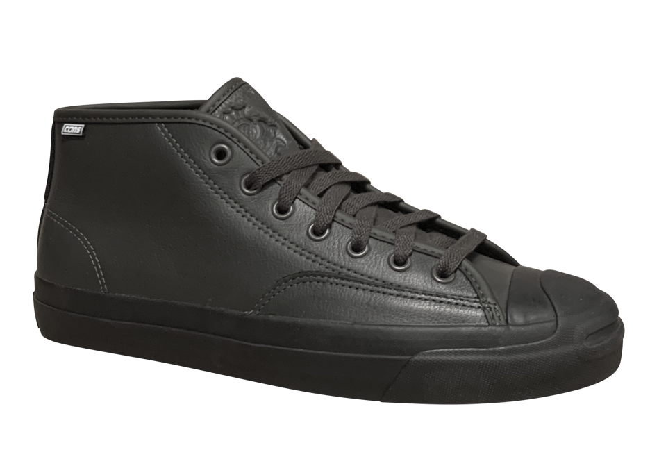 Image of Converse CONS Jack Purcell Pro Mid - Beluga / Black Leather