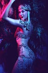 Signed Print - Neon pin up