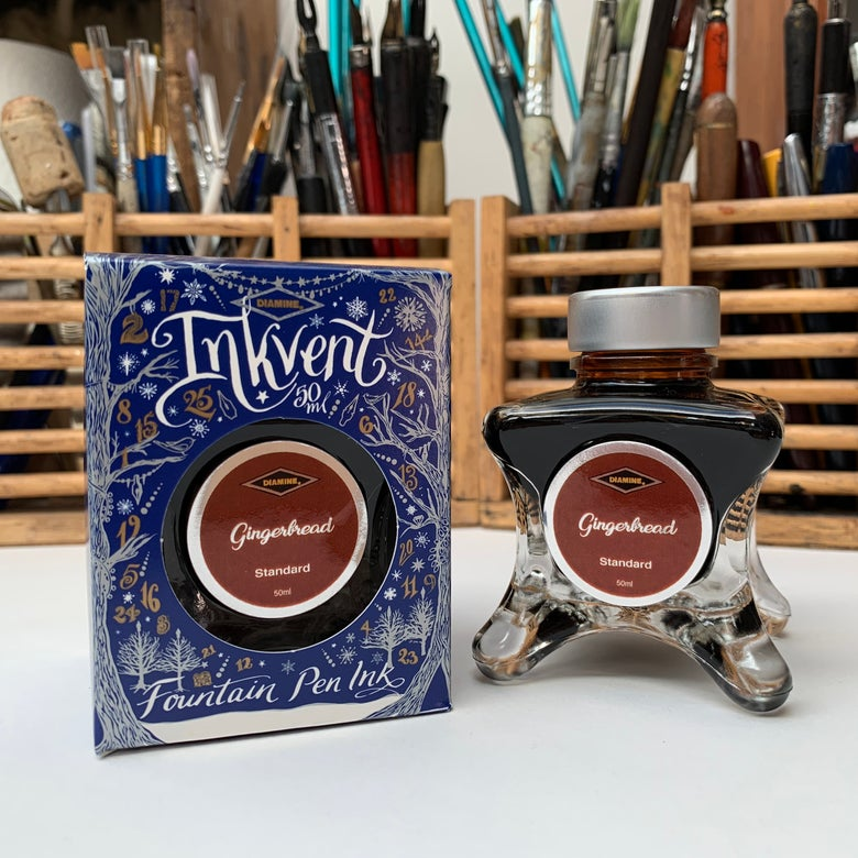 Image of Inkvent Ink 50ml Bottle / Gingerbread