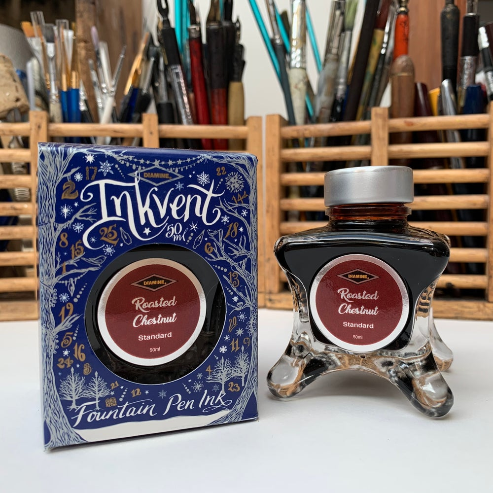 Image of Inkvent Ink 50ml Bottle / Roasted Chestnut