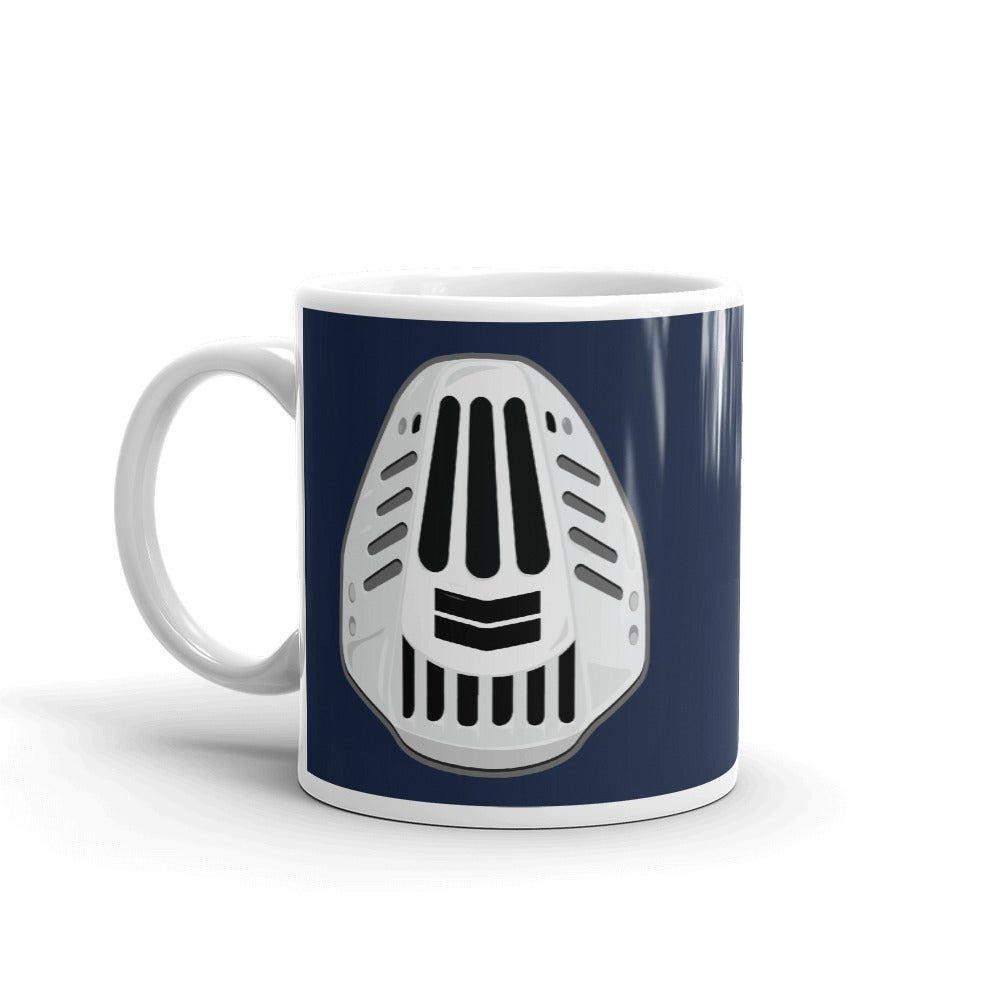 Image of FACE FULL OF CHEVRON MUG