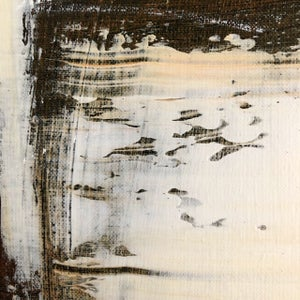 """Image of """"Jeux d''enfants"""" - Acrylic and oil pastel on canvas, 100x70cm."""