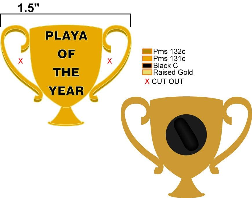 Image of PLAYA OF THE YEAR (PREORDER SHIPS LATE MAY)