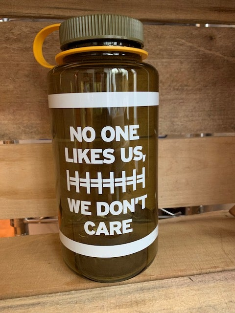 No One Likes Us, We Don't Care Philly 32oz Nalgene Water Bottle