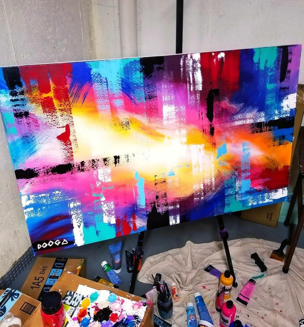 Image of Abstract - Canvas Print