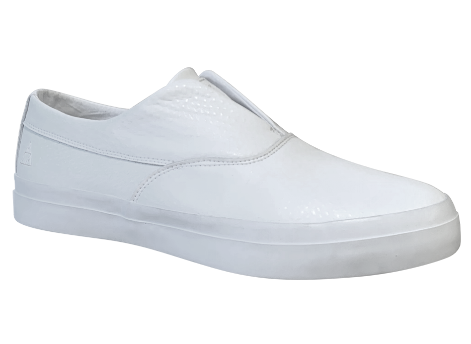 Image of HUF Dylan Slip-on - White Leather