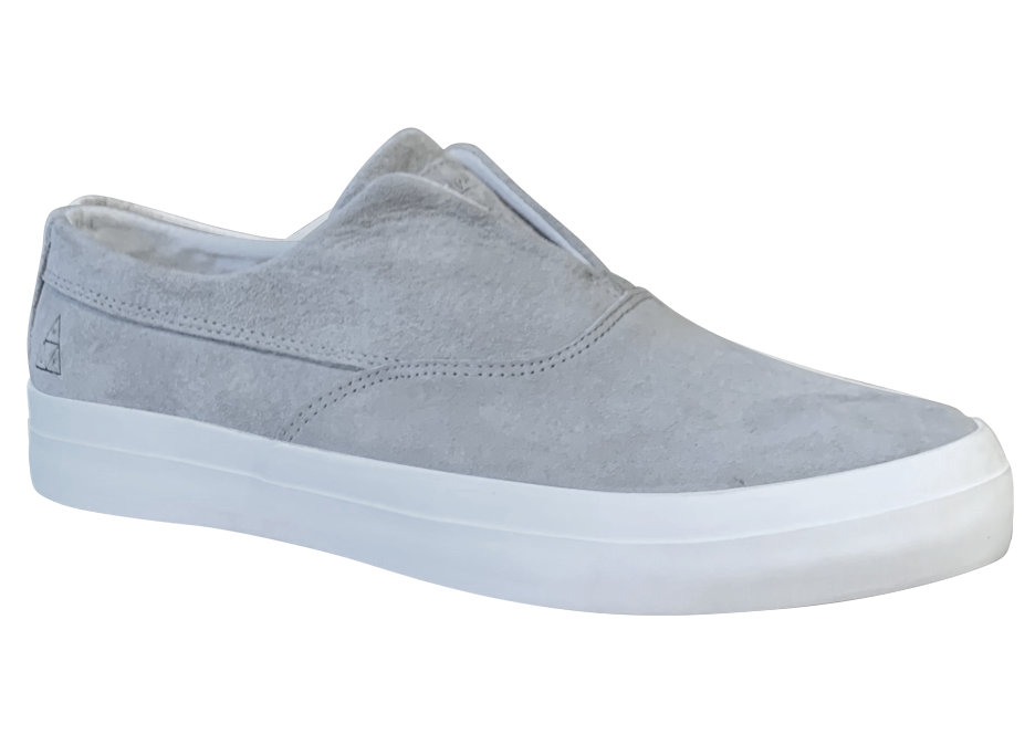 Image of HUF Dylan Slip-on - Ash Grey Suede
