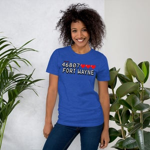 Image of 46807 High Score Zipcode Unisex T-Shirt